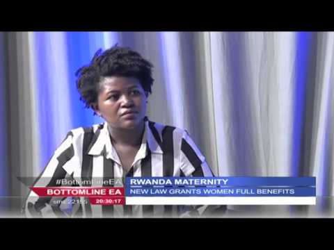 Bottomline East Africa 19th February 2016: Rwanda's new maternity leave law