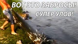 Рыбалка Кастинговой Сетью Лучшие забросы TOP CAST NET