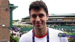 Mario Ančić o Podlozi, Favoritima i Meču Đoković - Gofan   Wimbledon 2019.   SPORT KLUB Tenis