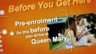Enrolling at Queen Mary