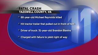 VSP investigate fatal crash involving logging truck in Tazewell County, VA