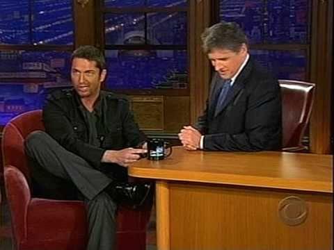 Craig Ferguson with Gerard Butler, 2007