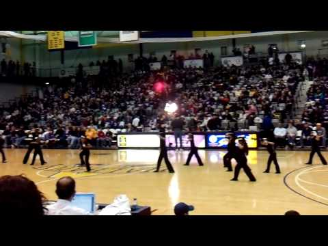 Brighter Choice Charter School for Girls Halftime Show at UAlbany 2010