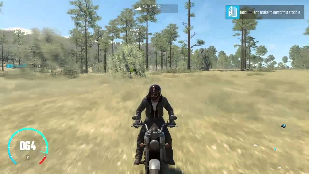 The Crew™motorbike free roam - YouTube