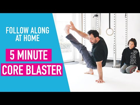 5 Minute Core Workout At Home (or Any Small Space)