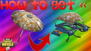 How To Get The Founder's Umbrella And Glider (*RARE*) In Fortnite Battle Royale!