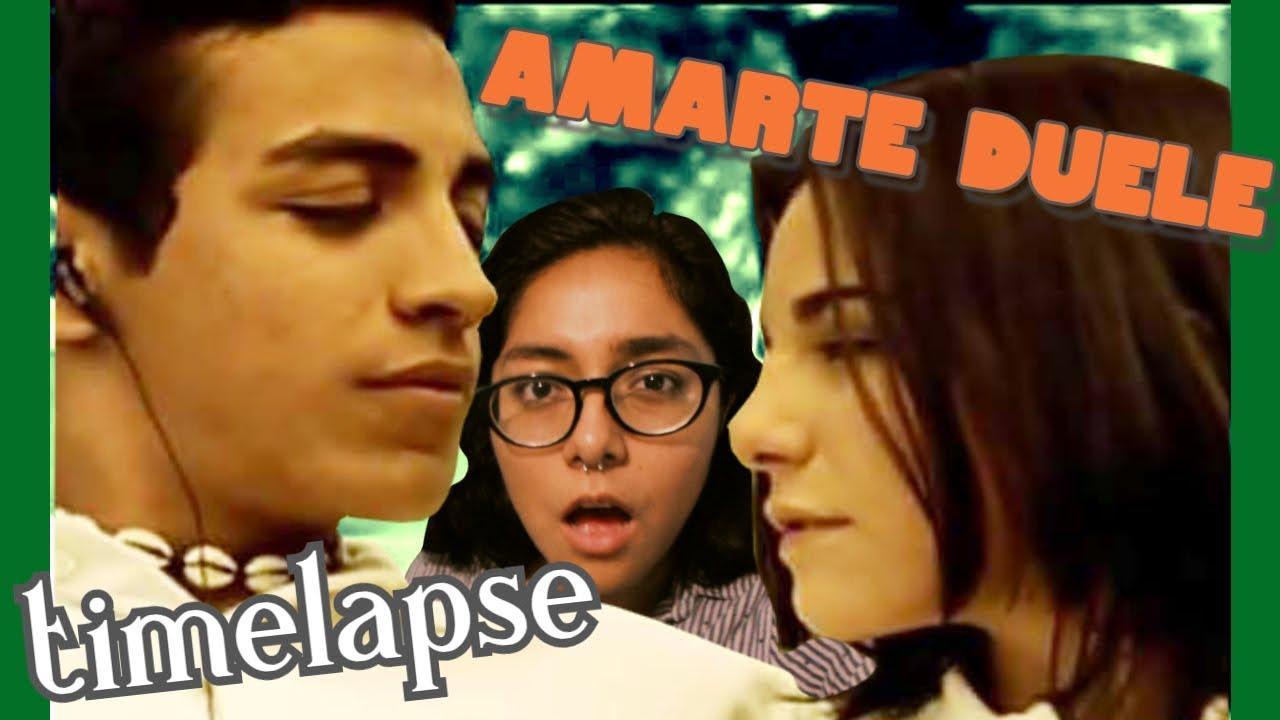 Amar Te Duele Full Movie pintura en acuarela rostros | amarte duele [timelapse]