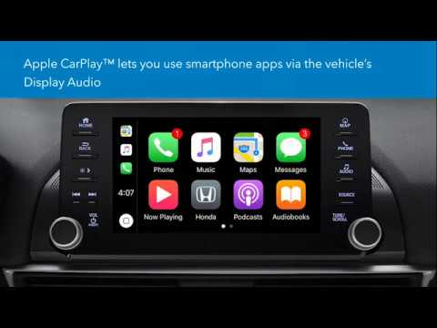How to Connect and Use Apple CarPlay™ in the 2018 Honda Accord