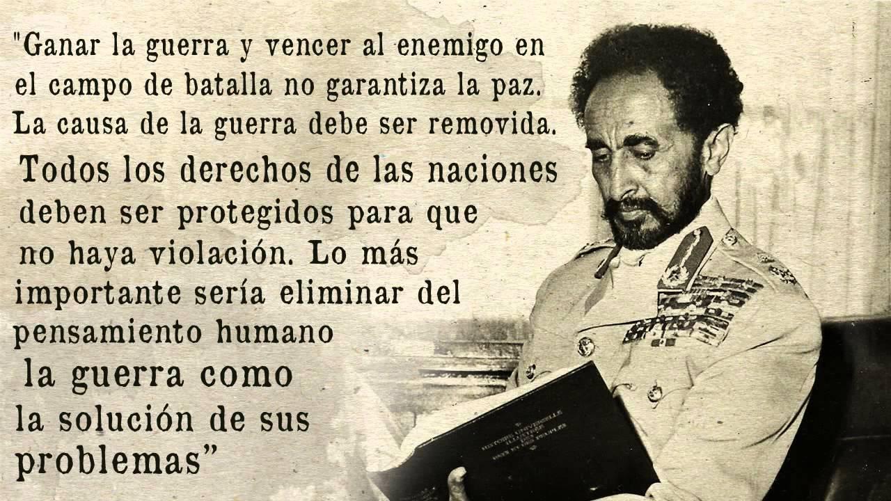 Frase De Brusli: 12 Frases De S M I Haile Selassie I