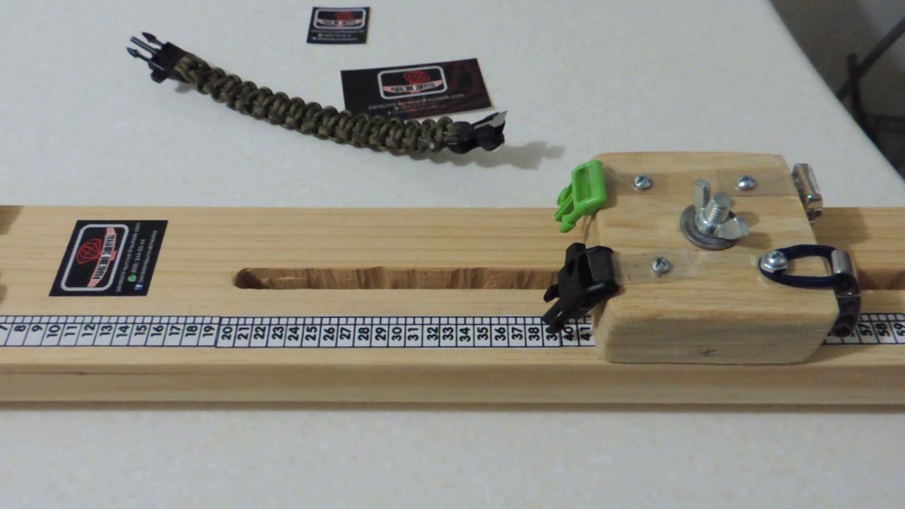 0bdb09a54116 paracord survival mexico , base para fabricar pulseras a medida con  variedad de broches