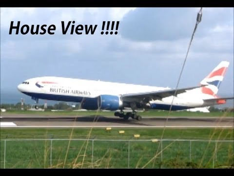 777,737, A319, ATR-72 action @ St Kitts (House View)