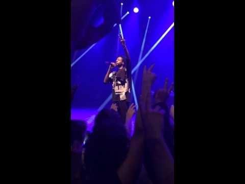 "PRO ERA ""Like Water"" performed by Joey Bada$$ and Kirk Knight - Live B4.DA.$$ Worldtour"