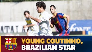 Highlights of young Coutinho with Brazil national teams