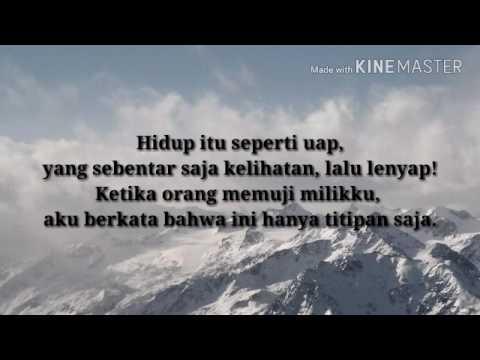 Puisi WS Rendra Kepada Tuhan Aku MencintaiMu