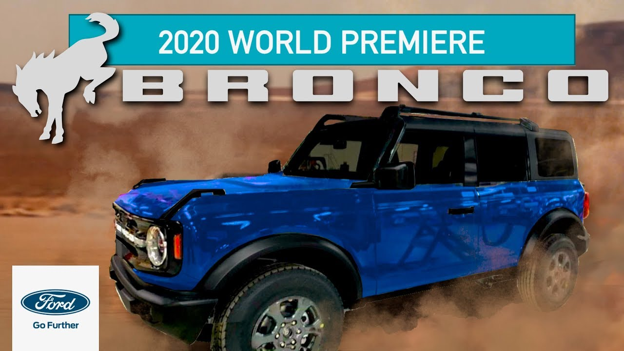 The New Ford Bronco Should Come To Europe