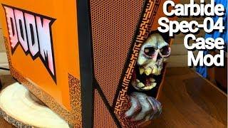 Modding the Corsair Carbide Spec-04! (DOOM theme)