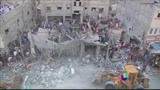 La crisis en el Medio Oriente se empeora, Israel y Palestina en guerra de nuevo
