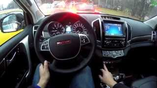 Haval H9 FPV Driving in 4k UHD/ Безмолвная езда на Хавал Аш 9