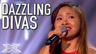 DAZZLING DIVA Performances On The X Factor! | X Factor Global