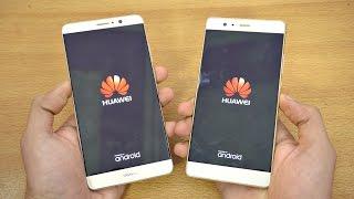 Huawei Mate 9 vs P9 Plus - Speed Test! (4K)