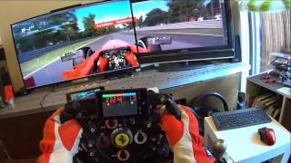 F1 2013 Ferrari Monza Dual Display T500RS F1 Wheel