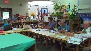 Sunderland School Committee Meeting - June 19, 2018