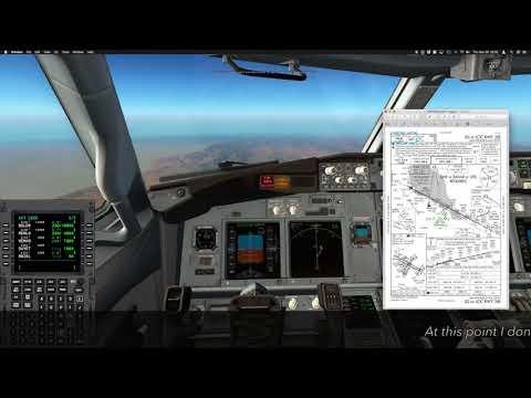 X-Plane 11 default FMC VNAV Tutorial