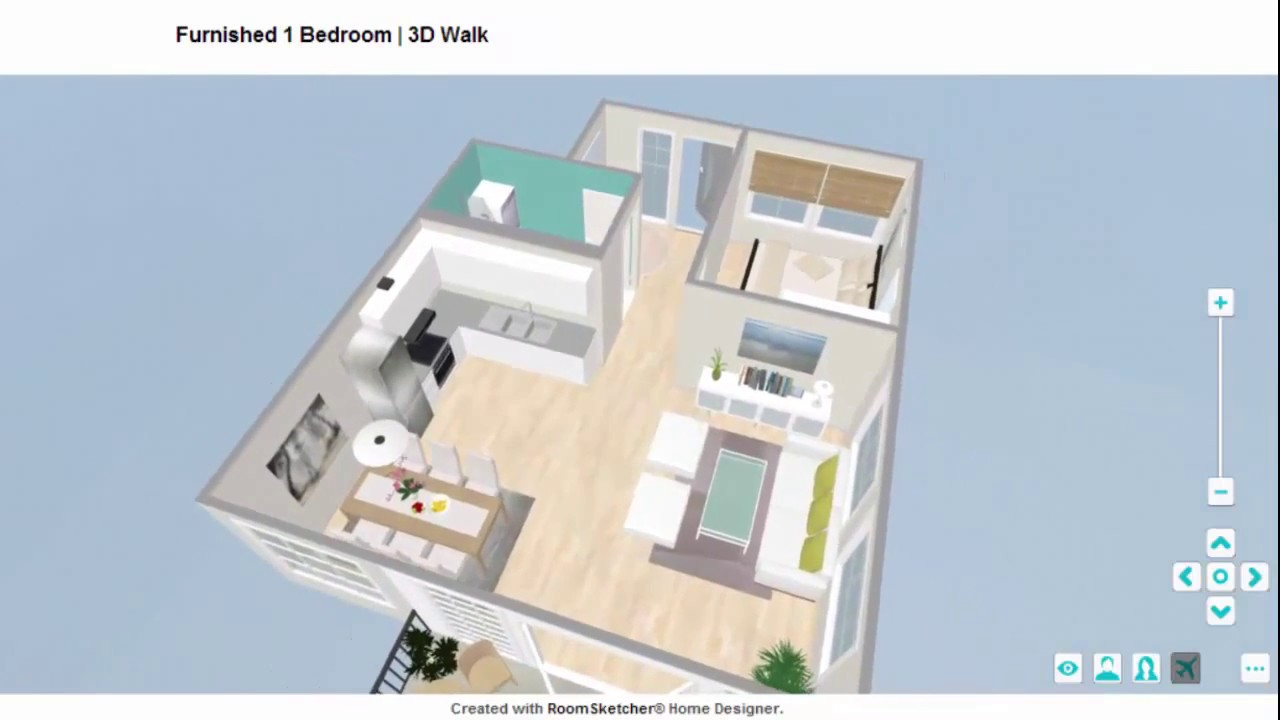 live 3d grundrisse teilen roomsketcher raumplaner youtube. Black Bedroom Furniture Sets. Home Design Ideas