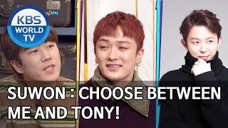 Suwon : Choose between me and Tony! [Happy Together/2020.02.13]