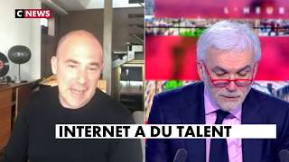 Interview sur CNEWS du contre-ténor Mathieu Salama. Des cours de chant sur internet