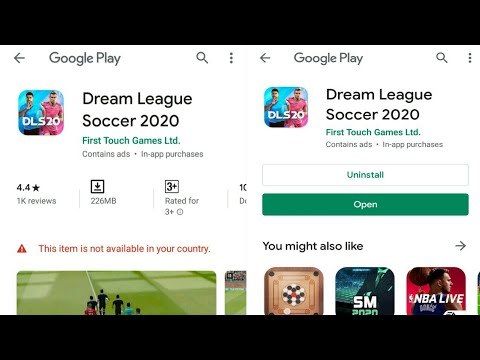 How To Download Dream League Soccer 2020 In Android | Dream League Soccer Download Problem Solved