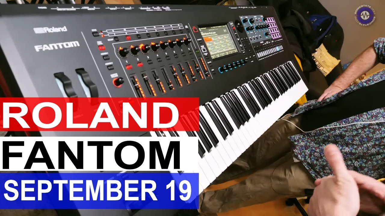 Roland New Stuff- Jupiter-Xm, MC-707, Fantoms and Boutique