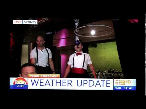 Barzirk - The Bar and The Circus featured in Today Show