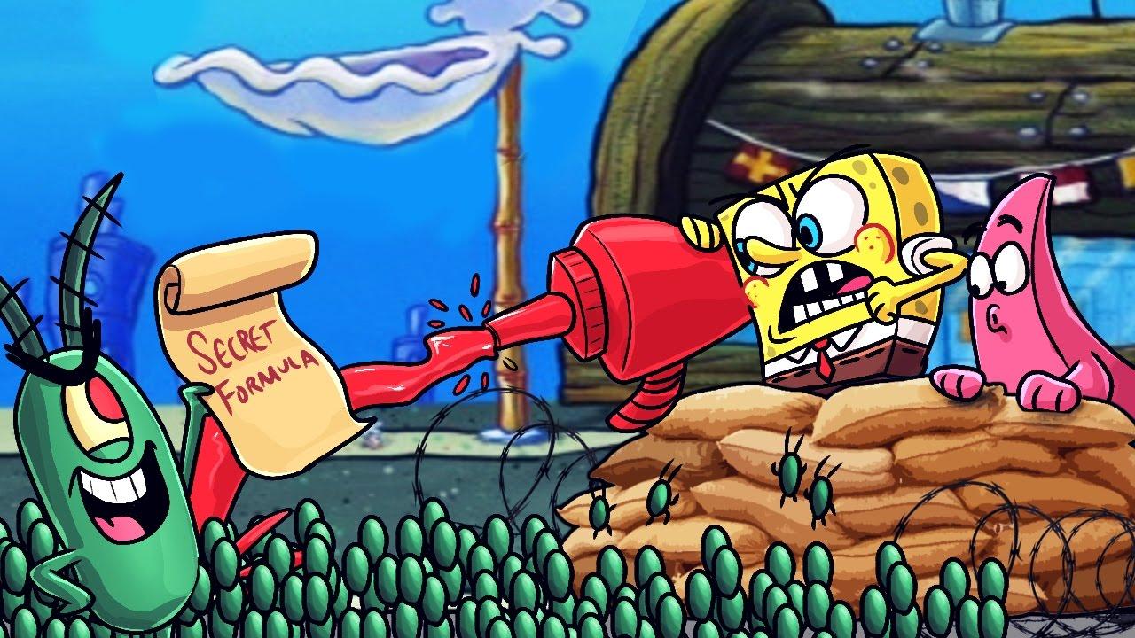 minecraft spongebob vs plankton battle for secret formula good