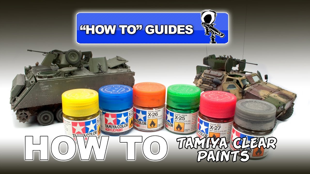 Tamiya clear paints how to guide youtube tamiya clear paints how to guide geenschuldenfo Gallery