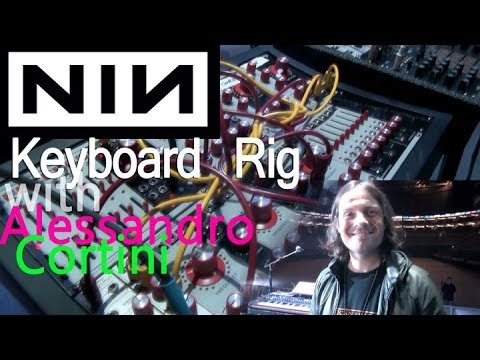 Nine Inch Nails - Alessandro Cortini Live Rig