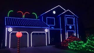 Mussers Christmas Light Show 2017