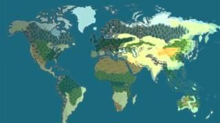 Презентация для детей по Доману. Карта мира