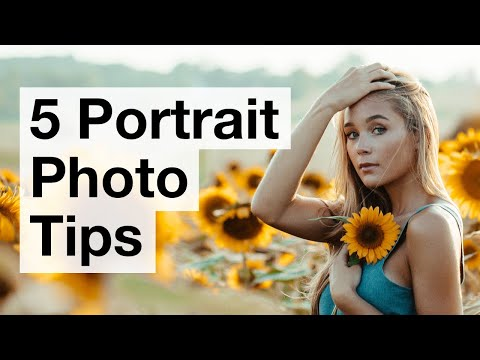 5 Simple Tips For Incredible Portrait Photos