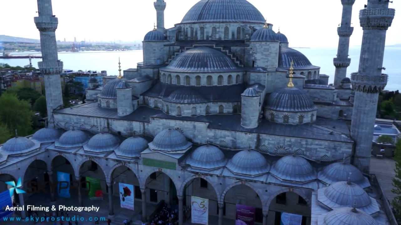 Sultan Ahmet Camii Havadan Video Çekimleri - YouTube