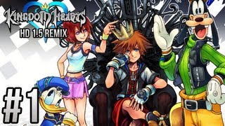 Kingdom Hearts HD 1.5 REMIX  - Part 1