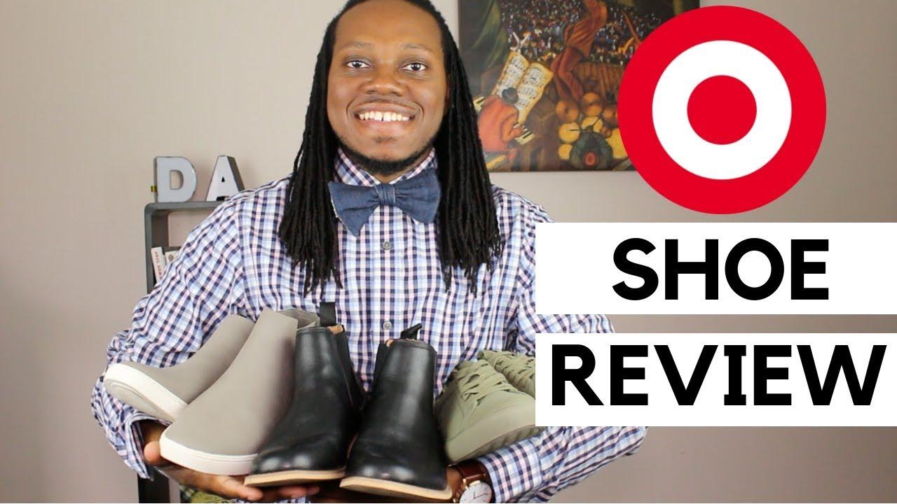 Target Mens Shoe Review   Goodfellow