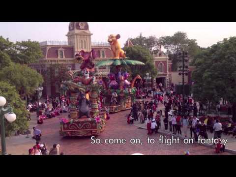 香港迪士尼樂園飛天巡遊 Hong Kong Disneyland Flighe of Fantasy Parade
