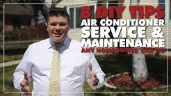 Air Conditioner Maintenance: 8 Tips You Can Do Yourself