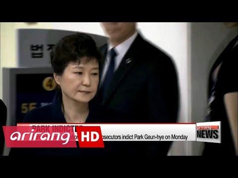 Prosecutors indict Park Geun-hye, wrap up corruption scandal probe