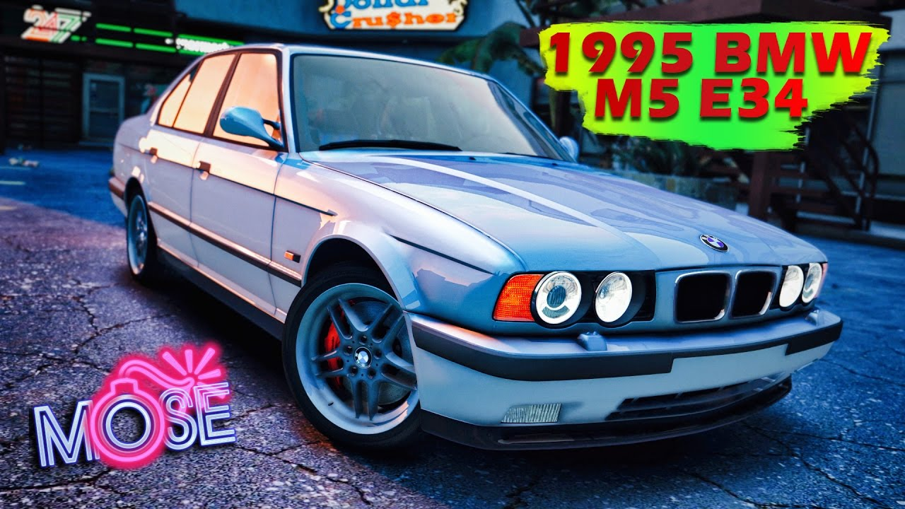 Gta 5 моды 1995 Bmw M5 E34 Youtube