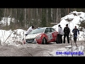 SM Vaakuna Ralli 2017 Crash & Action