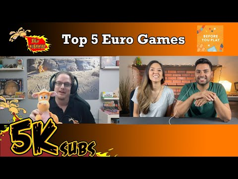 Top 5 Euro Games! Feat. Before You Play