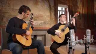 "Astor Piazzolla ""Tango Suite"" for two guitars Duo Pace Poli Cappelli (guitar duo)"