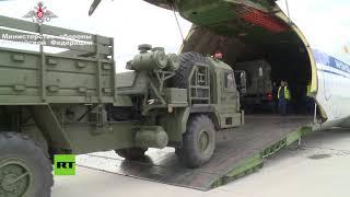 Rusia envía a Turquía sistemas antimisiles S-400